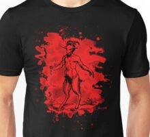 Aegopithecus bleached - red Unisex T-Shirt
