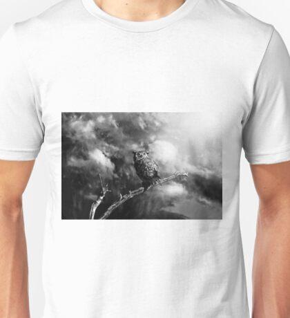 Coming Storm - Black/White Unisex T-Shirt