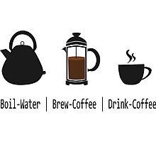 Brew-Coffee Photographic Print