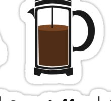 Brew-Coffee Sticker