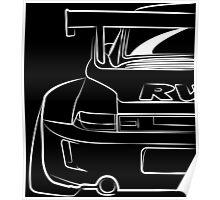 Porsche RWB Poster