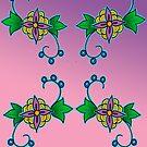 ojibwe floral deisng #1 2016 by mylittlenative