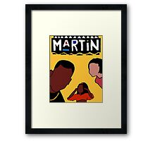 Martin (Yellow) Framed Print
