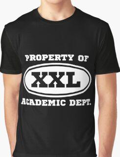 Acadmic Dept. (dark background) Graphic T-Shirt