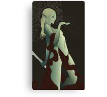 Female Elf Tarot Canvas Print