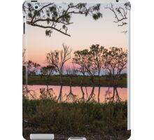 Queensland outback sunset iPad Case/Skin