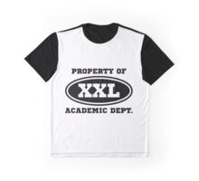 Academic Dept. (light background) Graphic T-Shirt
