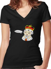 You'll be back Women's Fitted V-Neck T-Shirt