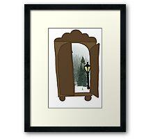 Explore the Wardrobe Framed Print