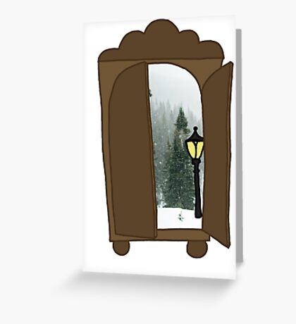 Explore the Wardrobe Greeting Card