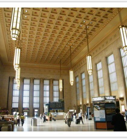 Historic 30th Street Train Station, Philadelphia Sticker
