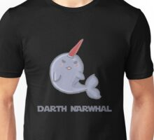 Darth Narwhal Unisex T-Shirt