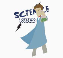 Science Rules Baby Tee