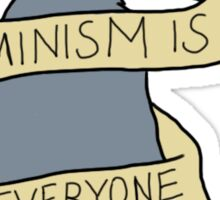 Feminism is Purr everyone Sticker