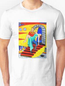 Captain Uranus Space Science Fiction Hero Unisex T-Shirt