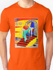 Captain Uranus Space Science Fiction Hero Unisex T-Shirt