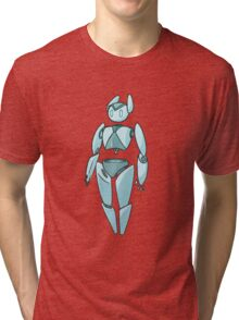 Simple Robot Tri-blend T-Shirt