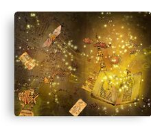 The Book of Alchemy Canvas Print