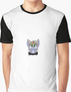 Flower Crown Cat Graphic T-Shirt