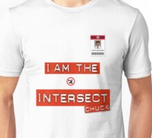 "Chuck ""I Am the Intersect""  Unisex T-Shirt"