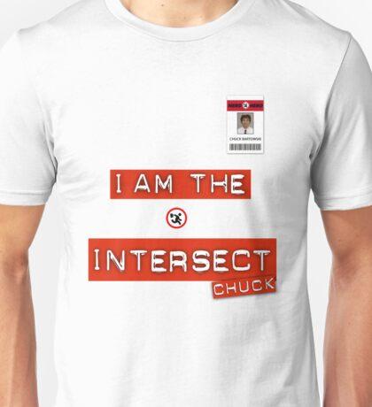 "Chuck ""I Am the Intersect""  Unisex T-Shirt"