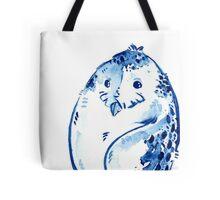 Original Watercolor Owl Design Tote Bag