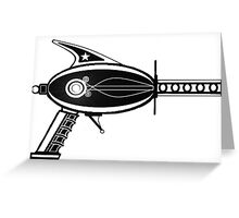 Original THE RAY GUN, Science Fiction  Greeting Card