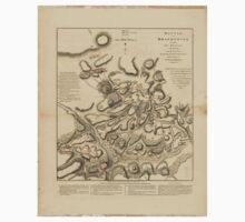 American Revolutionary War Era Maps 1750-1786 327 Battle of Brandywine in which the rebels were defeated September the 11th 1777 by the army under the command Kids Tee