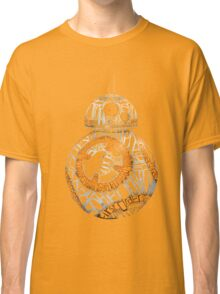 BB-8 Typography Classic T-Shirt