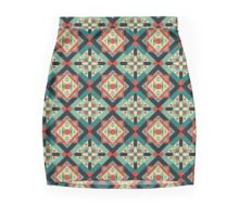 Moroccan Geometric Culture 1 Mini Skirt