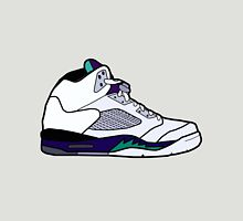 Jordan 5 Retro Grape Shoes Unisex T-Shirt