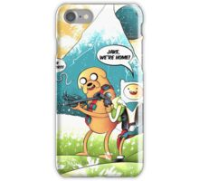 ADVENTURE TIME - JAKE, WE'RE HOME! iPhone Case/Skin