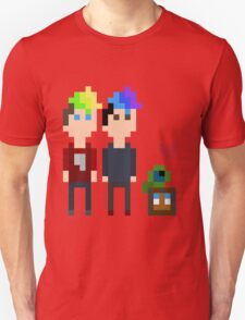 Pixel Jack, Mark and Friends Unisex T-Shirt
