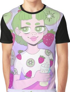 Strawberry Kiwi Graphic T-Shirt