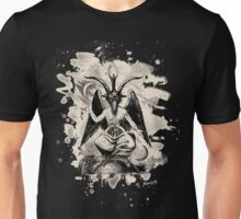 Baphomet - bleached (creme white) Unisex T-Shirt
