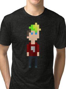 Pixel Jack Tri-blend T-Shirt