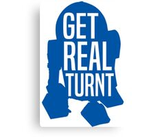 R2D2 - Get Real Turnt Canvas Print