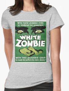 White zombie Womens Fitted T-Shirt