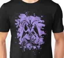 Baphomet bleached - violet Unisex T-Shirt