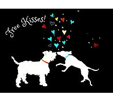 Free Kisses! Photographic Print