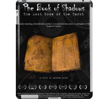 The Book of Shadows - The film poster iPad Case/Skin