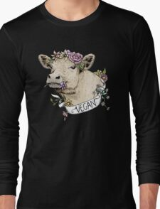 Daisy Vegan Long Sleeve T-Shirt