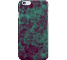 Green Textured Square Pattern iPhone Case/Skin
