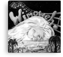"""Wimoweh"" (The Lion Sleeps Tonight) Canvas Print"