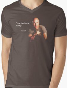 """Use the force, Harry"" - Gandalf Mens V-Neck T-Shirt"