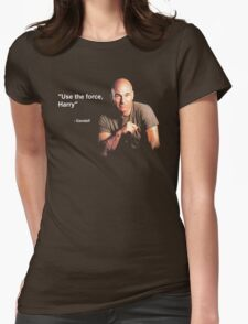 """""""Use the force, Harry"""" - Gandalf Womens Fitted T-Shirt"""