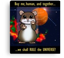Space Hamster Canvas Print