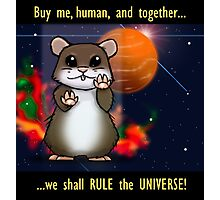 Space Hamster Photographic Print