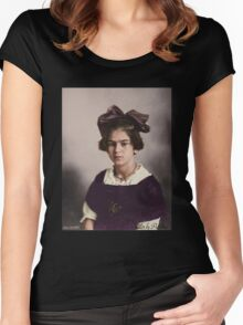 Frida Kahlo Age 12 Women's Fitted Scoop T-Shirt