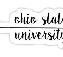 Ohio State Arrow Sticker